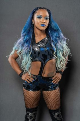 SPORTS Pro wrestler Kiera Hogan marking coming out at Chicago events