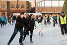 Rosemont's Parkway Bank Park ice rink. Photo courtesy of the Village of Rosemont