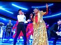 Janelle Monae, Billy Porter. Image from broadcast