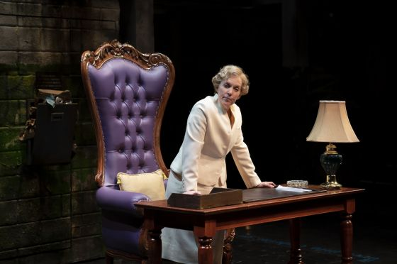 THEATER REVIEW Her Honor Jane Byrne