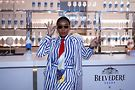 Janelle Monae. Phobo by Getty Images and Belvedere Vodka