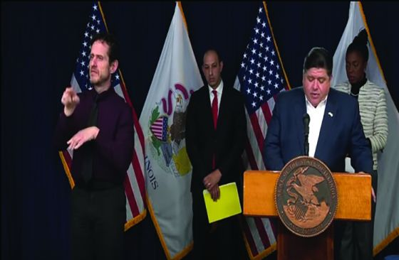Gay sign-language interpreter on press conferences, LGBTQs