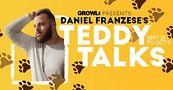Daniel Franzese's Teddy Talks on GROWLr Live. Image courtesy of Jeff Dorta