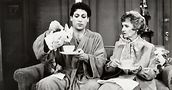 Harvey Fierstein (Arnold) and Estelle Getty (his mother) in Torch Song Trilogy. Photo by Jerry Goodstein