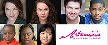 Top row L-R: Sarah Beth Tanner, Patty Malaney, John Ham, Tamarus Harvell. Lower row L-R: Anita Kavuu Ng'ang'a, Myesha-Tiara, Harmony Zhang. Image from Artemisia