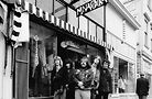 The Grateful Dead in front of Mnasidika. Photo by Herb Greene Photography via National Trust for Historic Preservation